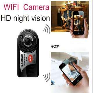 Q7 Mini Ip Cam P2P Night Vision DV Wireless Clear HD (Free Poslaju)