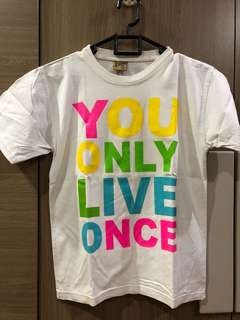 Yolo shirt - you only live once