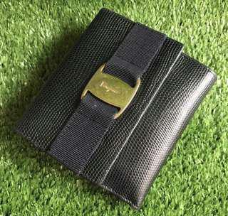 Salvatore Ferragamo Short Lizard Wallet