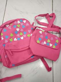 2 in 1 Bag and Sling for kids