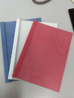 500 pcs File PVC cover 5$ for 200pcs