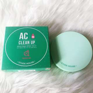 Etude AC Clean Up Cushion (For Acne Skin)
