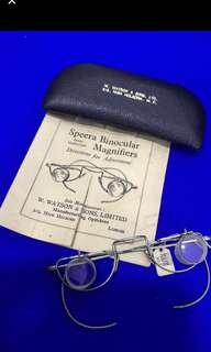 Vintage Collectable : Speera Binocular Magnifiers ( Directions for adjustment )