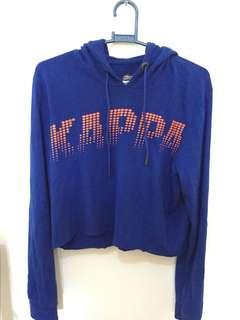 Crop top hoody jacket