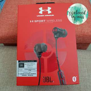 JBL headset wireless under armour
