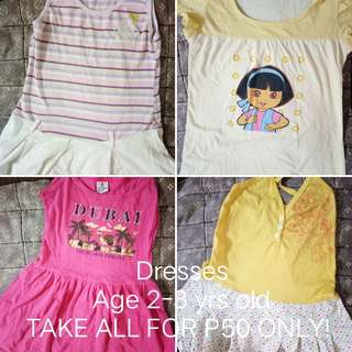 Take All Dresses for 2-3 yrs old