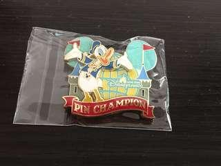 Disneyland Pin 徽章 Donald