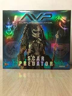 1/6 Hot Toys AVP MMS009 Heroic Scar Predator 1st Issue Ultra Rare