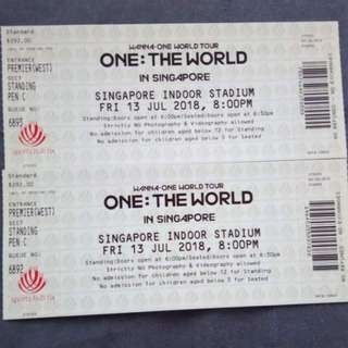 WannaOne Concert in Singapore