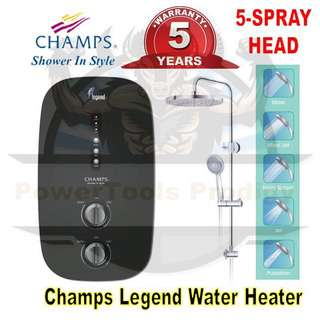 [NEW] CHAMPS LEGEND INSTANT ELECTRIC SHOWER HEATER