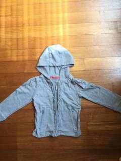 Mothercare grey hoodie, 1.5-2yo