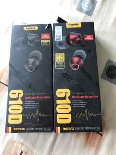 610D remax Earphone