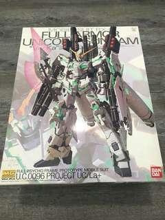 Gundam Unicorn Full Armor 1/100 Master Grade