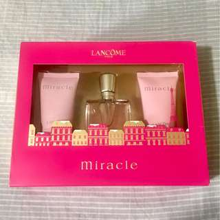 Lancome Miracle Set with Lotion and Shower Gel