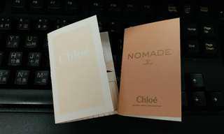 [包郵] CHLOE Parfum 1.2ml x 2
