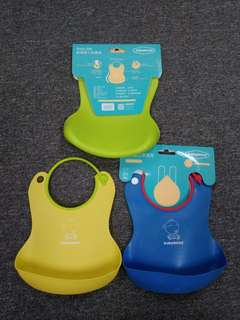 Baby silicone bib (brand new) #july50