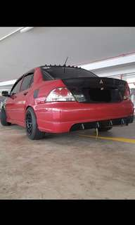 Manual Mitsubishi Lancer for Weekly Rentals