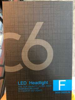 C6 Headlight LED H7