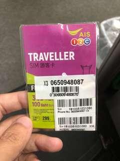 泰國🇹🇭8日上網卡