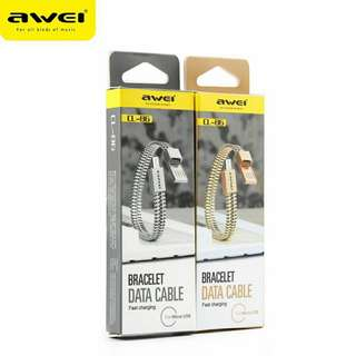 Awei Android Data Cable Bracelet