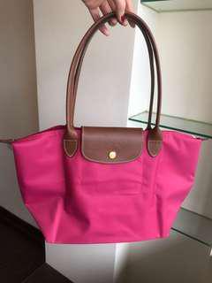 🚚 Longchamp 長柄S 薔薇色