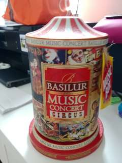 Basilur 音樂盒 紅茶包裝