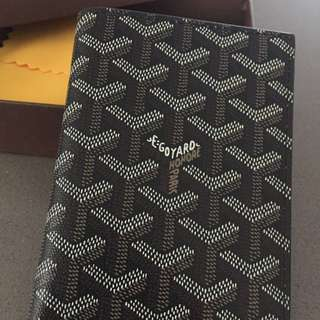 💙Goyard style passport holder