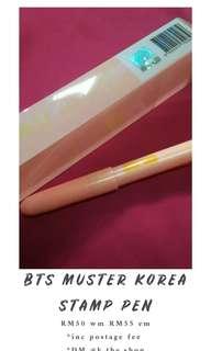 BTS 4th Mustet Korea Jin Gel Pen
