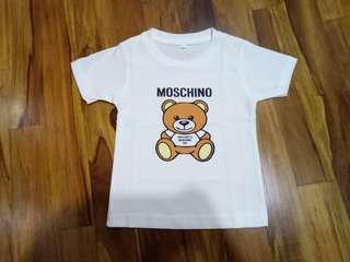 """Kaus premium moschino anak"""""""