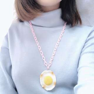 Egg necklace
