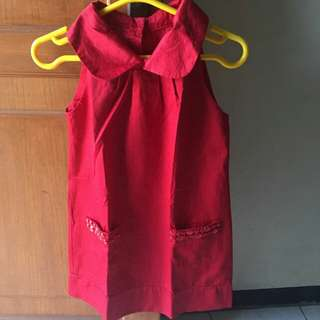 Girls Red Dress