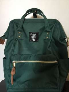 NEGOTIABLE Original Anello Backpack (Green)
