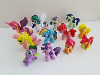 My Little Pony Figurines - Cake Toppers