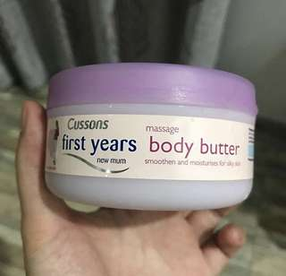 Cussons body butter
