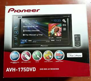 AVH-175DVD Pioneer Touchscreen Car Stereo