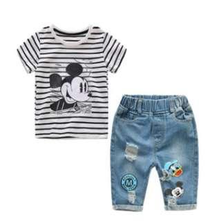 Set Mickey Boy Jeans