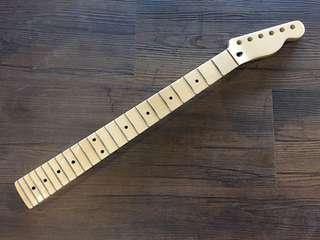 Guitar Neck Maple - Tele Headstock