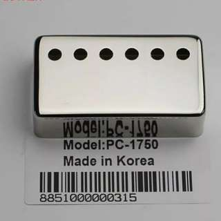 1pc 50mm or 52mm Nickel Chrome Metal Humbucker Pickup Cover for Les Paul, SG, Electric Guitar
