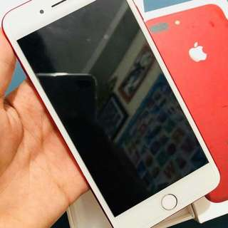 Iphone 7 plus 128gb Factory Unlock Limited Edition Red