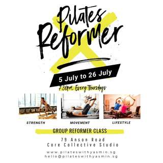 Pilates Reformer Small Group Class