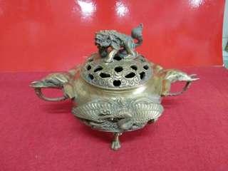 老铜炉,像耳,鹤龟祝寿✨✨