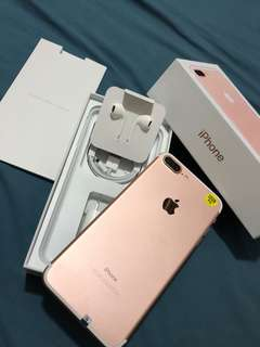 Iphone 7 plus 32gb Factory Unlock !