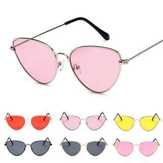 Kacamata retro pink