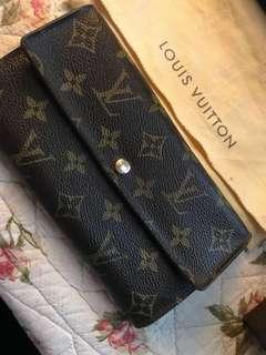 SALE! Louis Vuitton Monogram Long Wallet