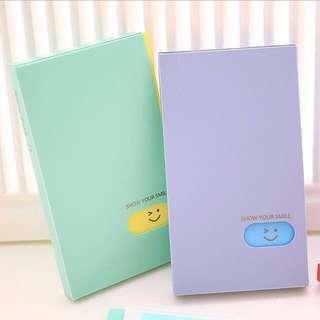 Kpop Photocard/ Name / Lomo Card Album Holder
