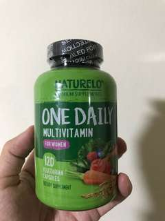 Naturelo - One Daily Multivitamin for Women – 120 capsules | 4 month supply