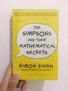 The Simpsons and Their Mathematical Secrets (by Simon Singh)