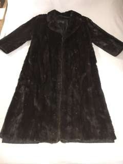 Minx men's full length fur coat