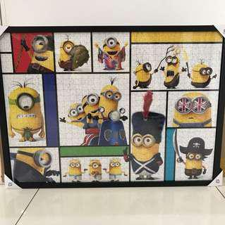 69x50 Despicable Me Finish Puzzle