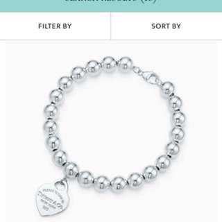 Return to tiffany beads bracelet